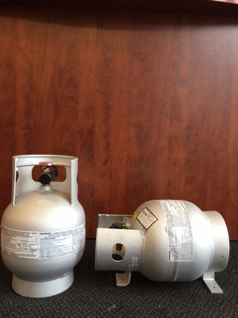10lb vapor aluminum propane cylinder
