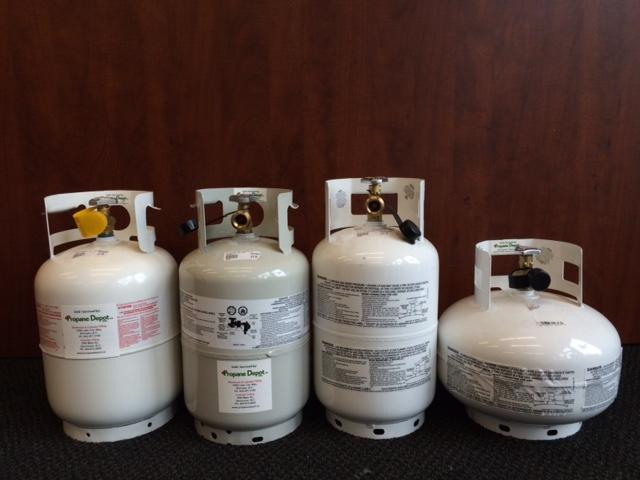11lb vapor propane cylinder