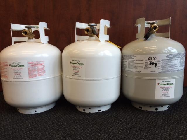 20lb vapor propane cylinder bbq