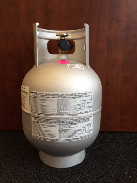 20lbs vapor alum vertical propane cylinder