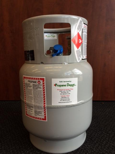 20lbs vapor carb floor polisher propane cylinder