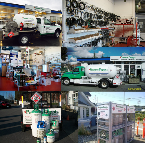 Propane Depot Welcome Collage