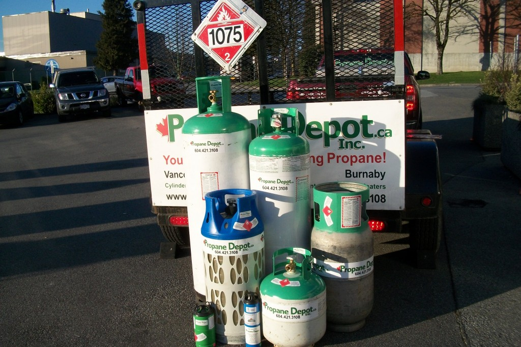 Movie Productions & SPFX On-Site Delivery rental cylinders