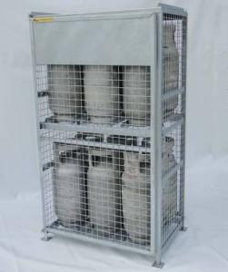 20lbs, 30lbs, 33lbs, 40lbs, 43lbs cylinders propane Cage