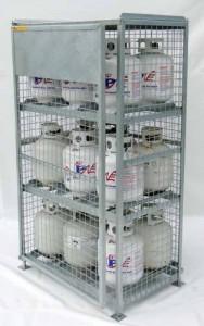 Propane Storage Cage 20lbs, 30lbs,33lbs,40lbs,43lbs cylinders