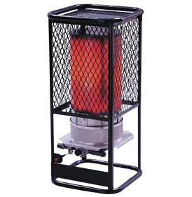 Model No: HS125LP enerco radiant cylinder portable heaters
