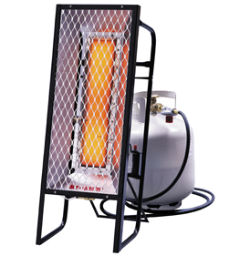 enerco radiant portable heaters construction