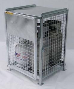 20lb, 30lb, 33lb, 40lb, 43lb Propane Storage Cage