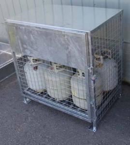20lbs, 30lbs, 33lbs, 40lbs, 43lbs cylinder cage
