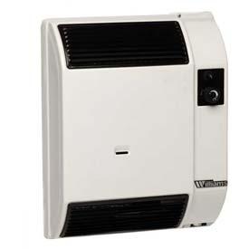 williams high efficiency 7400btu wall furnace