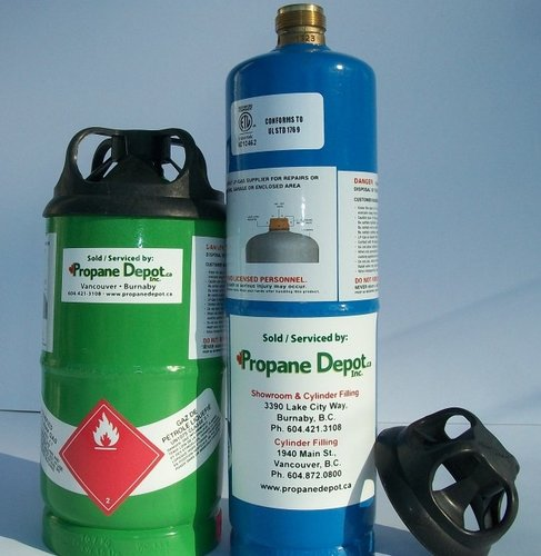 Refillable 1lb Cylinders Propane Depot