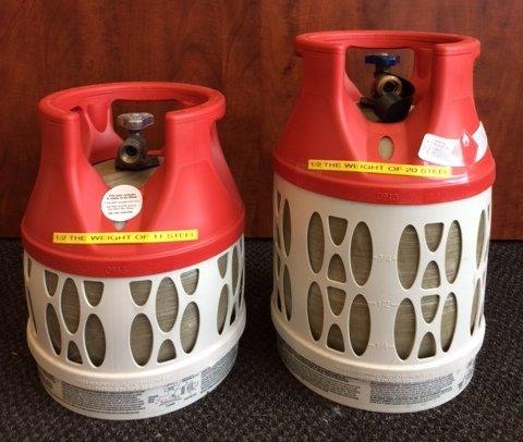 11lbs and 17lbs fiberglass vapor