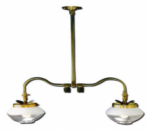 Falks 2707 double ceiling light