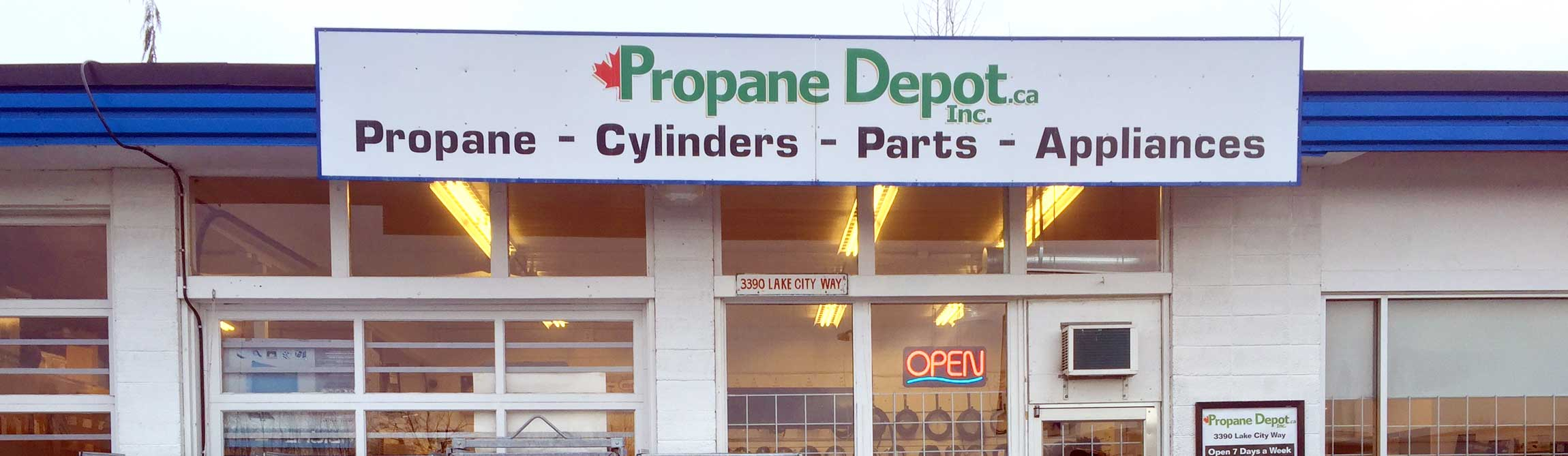 Propane Depot, Burnaby and Vancouver