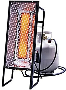 enerco HS35 radiant portable heater construction