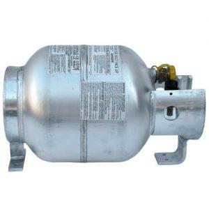 aluminum horizontal cylinders
