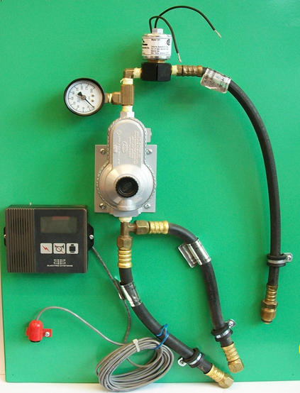 marine propane set up