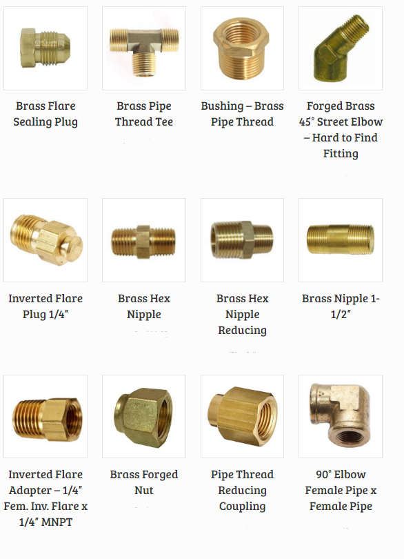 brass fittings 1