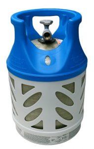 17LB fiberglass propane cylinder