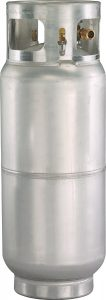 43lb aluminum forklift cylinder