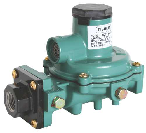 fisher R222 Series Second-Stage Regulator