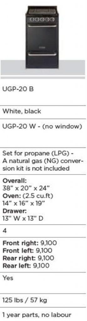 Fridge UGP-20B