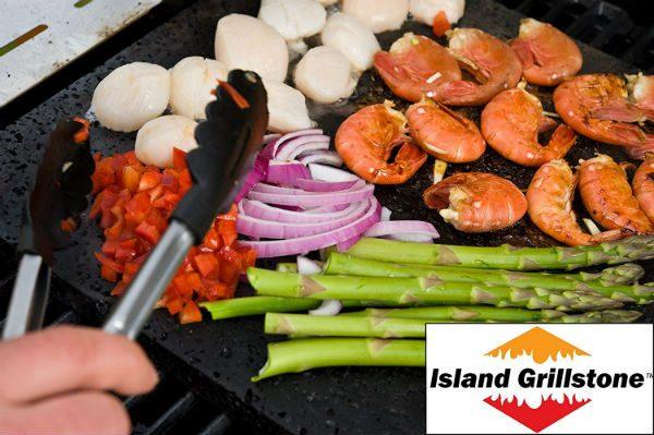 Island grillstones